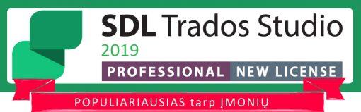 SDL Trados Studio 2019 professional new license populiariausias tarp įmonių cattool cattool.eu lietuva lithuania